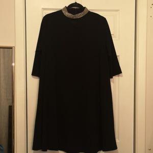 Beaded Choker Dress